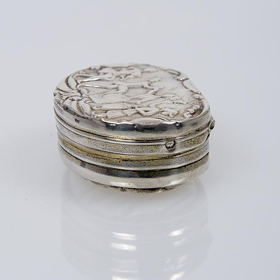 Antiek zilveren snuifdoos